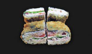 Суши-сендвич с ветчиной